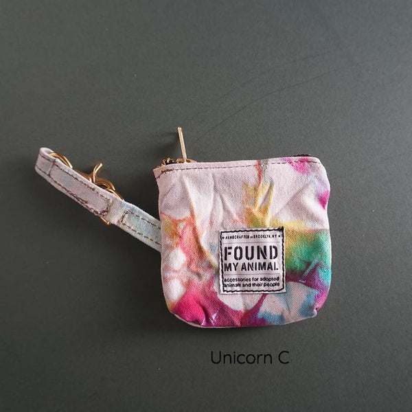 Found My Animal Canvas Poop Bag Pouch Unicorn 3
