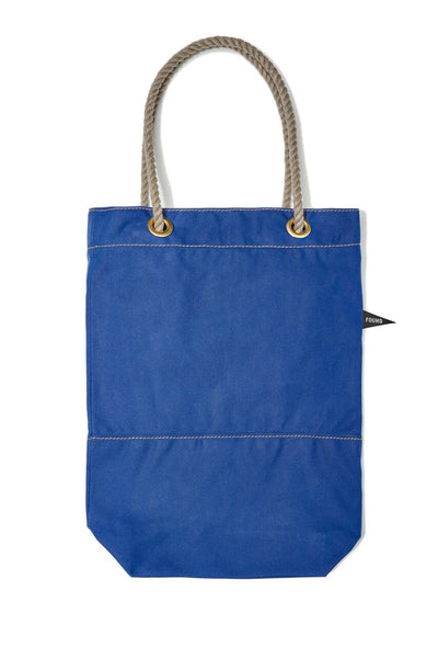 Found My Animal Cotton Canvas Tote Bright Blue