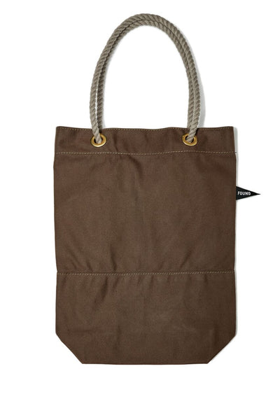 Found My Animal Cotton Canvas Tote Brown