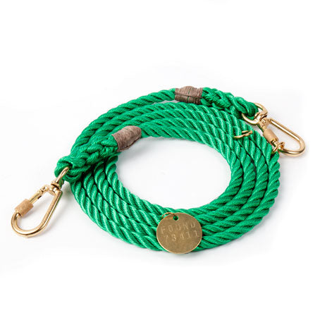 Found My Animal Miami Green Adjustable Dog Leash