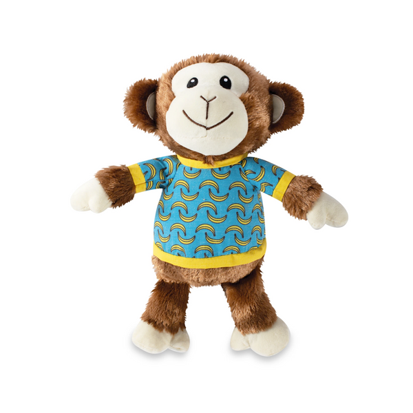Bananas the Monkey, Squeaky Plush Dog toy