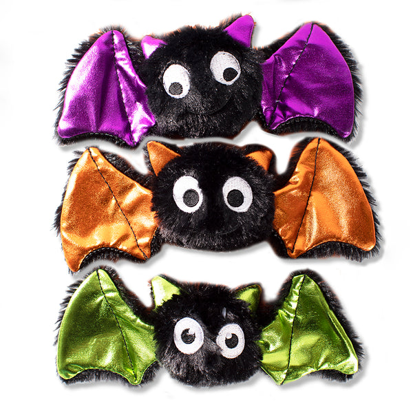 Mini Bats Bats Bats, Dog Squeaky Plush toy
