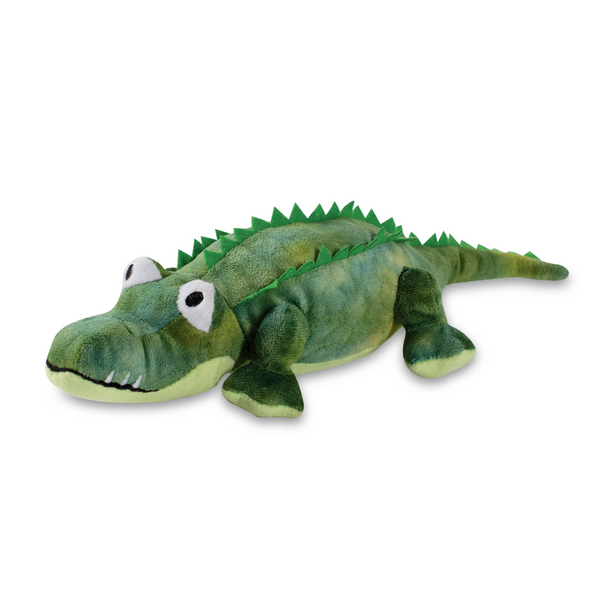 Chomp Chomp, the Croc-a-Gator, Squeaky Plush Dog toy
