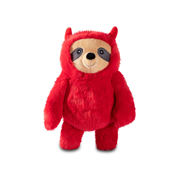 Devilish Sloth, Dog Squeaky Plush toy
