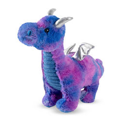 Norbert the Blue Dragon, Squeaky Plush Dog toy