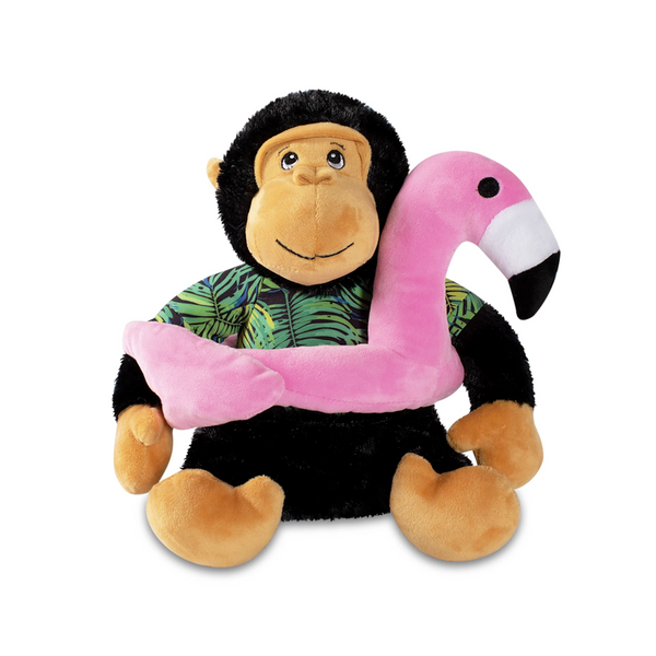 Gregory the Gorilla, Squeaky Plush Dog toy (Large)