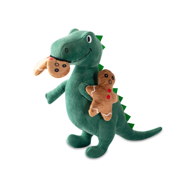 Holiday Munchies Rex, Dog Squeaky Plush toy