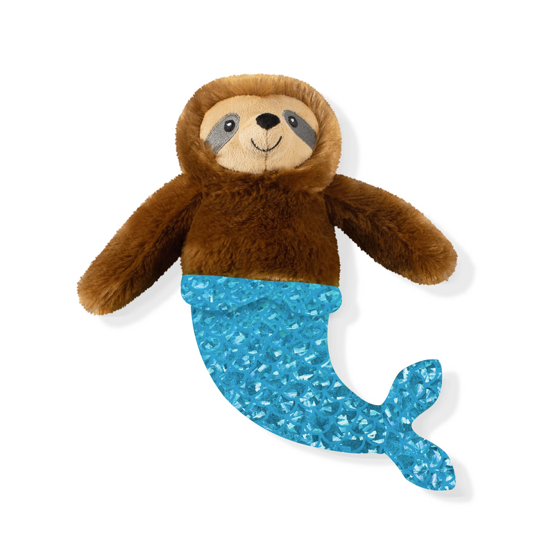 Starfish the Magical Mersloth, Dog Squeaky Plush toy