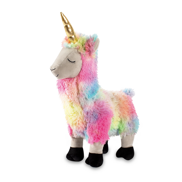 Sprinkles the Llamacorn Squeaky Plush Dog toy (Large)