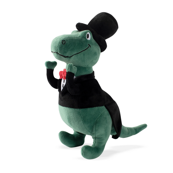 Smokin' Rex Tux Ready, Dog Squeaky Plush toy