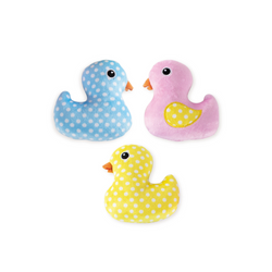 Mini Rubber Ducky, Dog Squeaky Plush toy