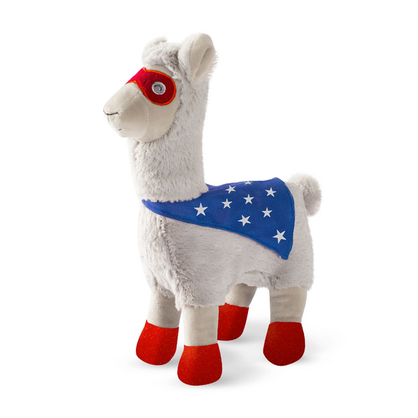 Super Llama, Dog Squeaky Plush toy