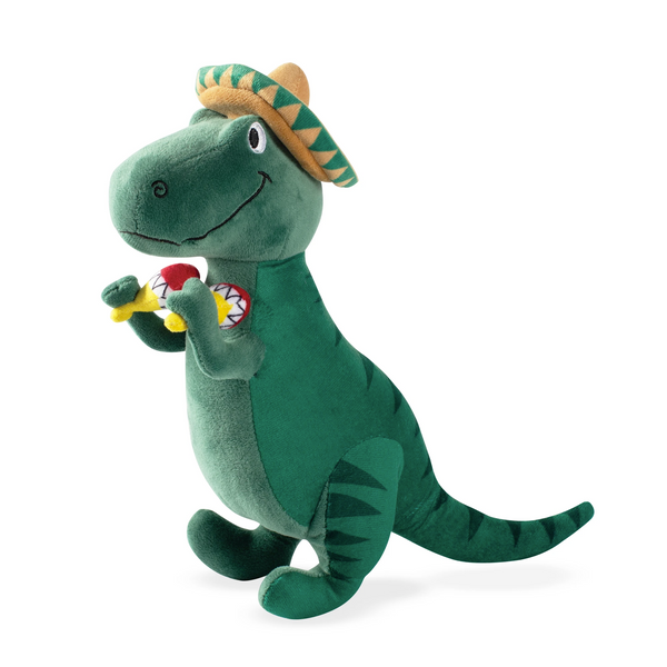 Cha Cha T-Mex Rex, Dog Squeaky Plush toy