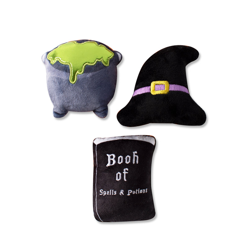 Mini Witching Hour, Dog Squeaky Plush toy