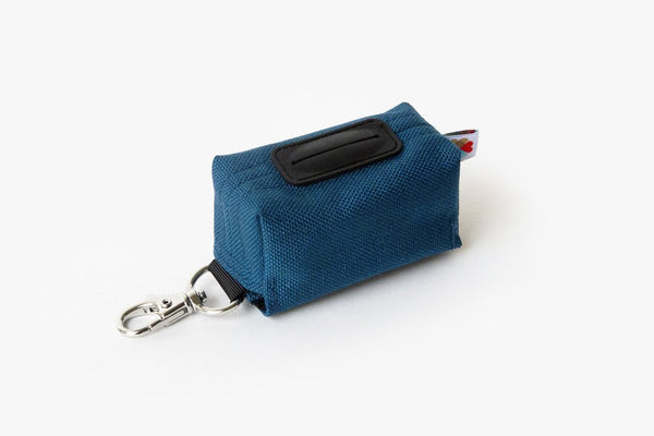 Funston Dog Poop Baggie Dispenser Navy
