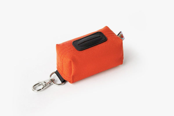 Funston Dog Poop Baggie Dispenser Orange