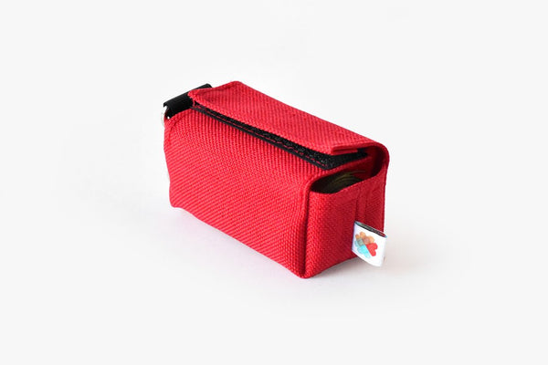 Funston Dog Poop Baggie Dispenser Red