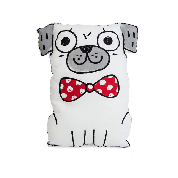 Homeware: Gemma Correll Cut and Sew Pug Tea Towel