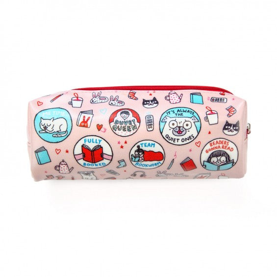 Gemma Correll SCOUT PATCHES Large Pencil Case
