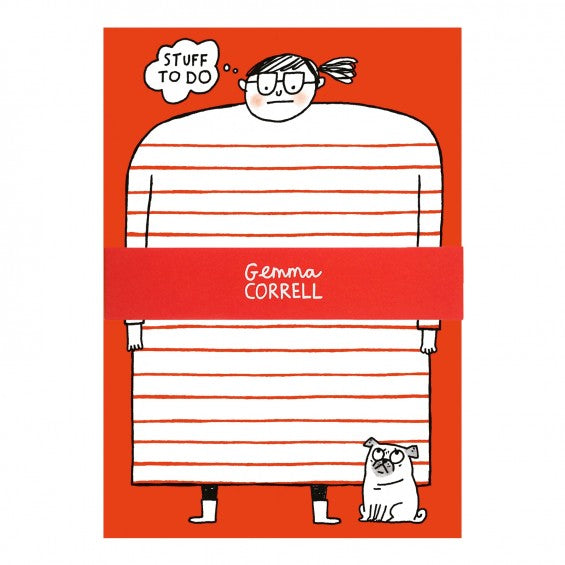 Gemma Correll STUFF TO DO NotePad