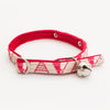 Hiro+Wolf Collar for Felines: Geo Pink