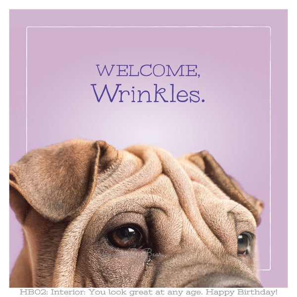 Happy Birthday: Mimosa's Wrinkles Happy Birthday