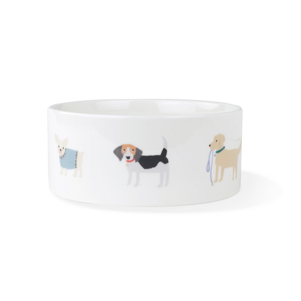Happy Breeds Ceramic Dog Food Water Bowl