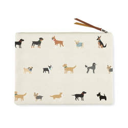 Happy Breeds Canvas Pouch