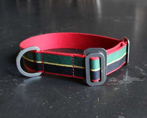 Dog Collar: Weave Fabric