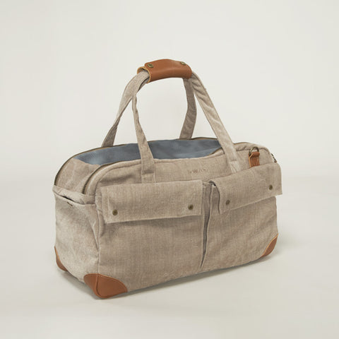 HowlPot We are Tight Dog Carrier Bag Velvet Beige