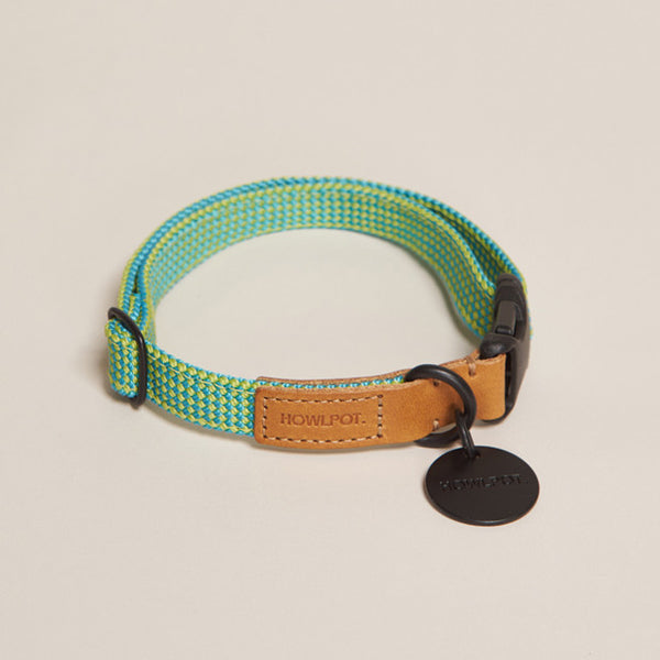HowlPot We are Tight Ribbon Dog Collar Pam Tree