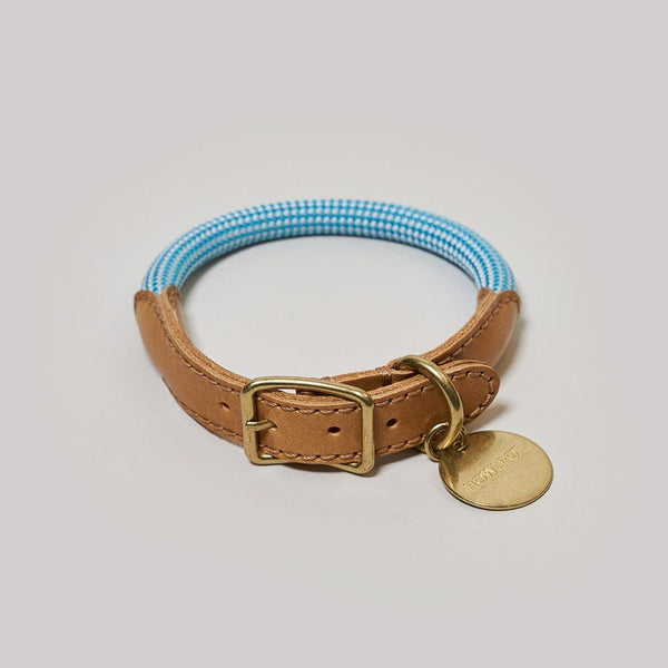 HowlPot We are Tight Rope Dog Collar Cloud Bay