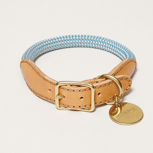 HowlPot We are Tight Rope Dog Collar Deep Sea