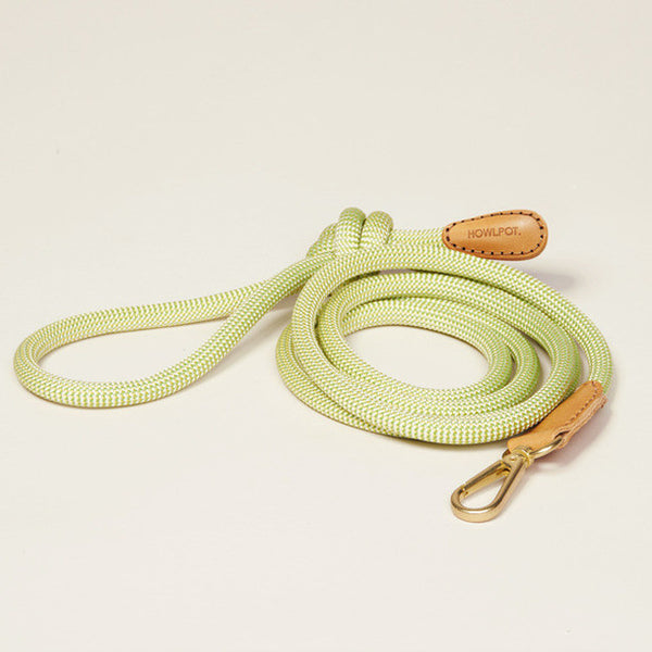 HowlPot We are Tight Rope Dog Leash Green Lemon