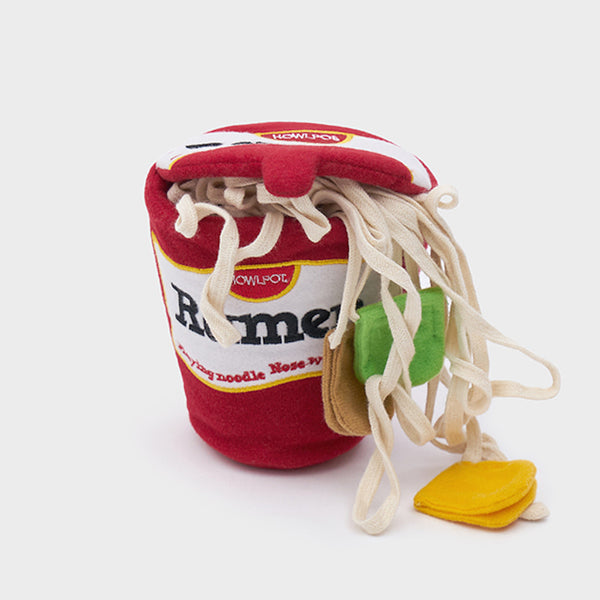 Ramen Nosework Dog Toy