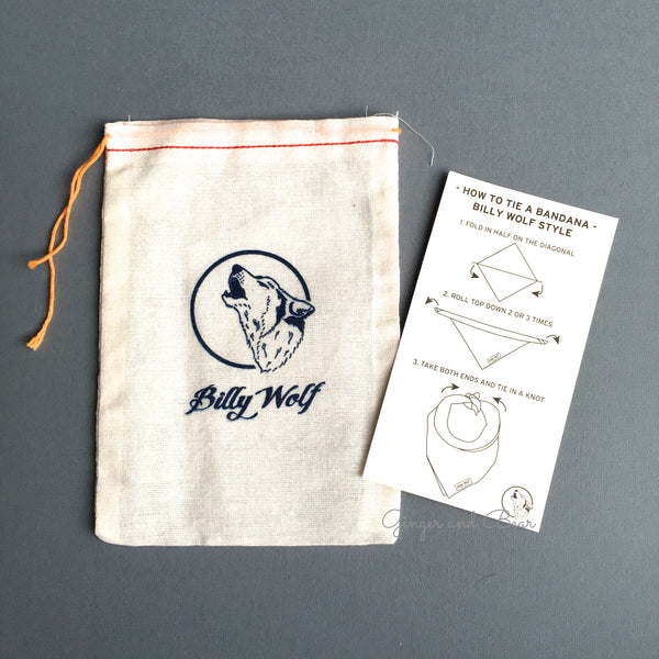 BillyWolf: Naomi Vintage Bandana (small)