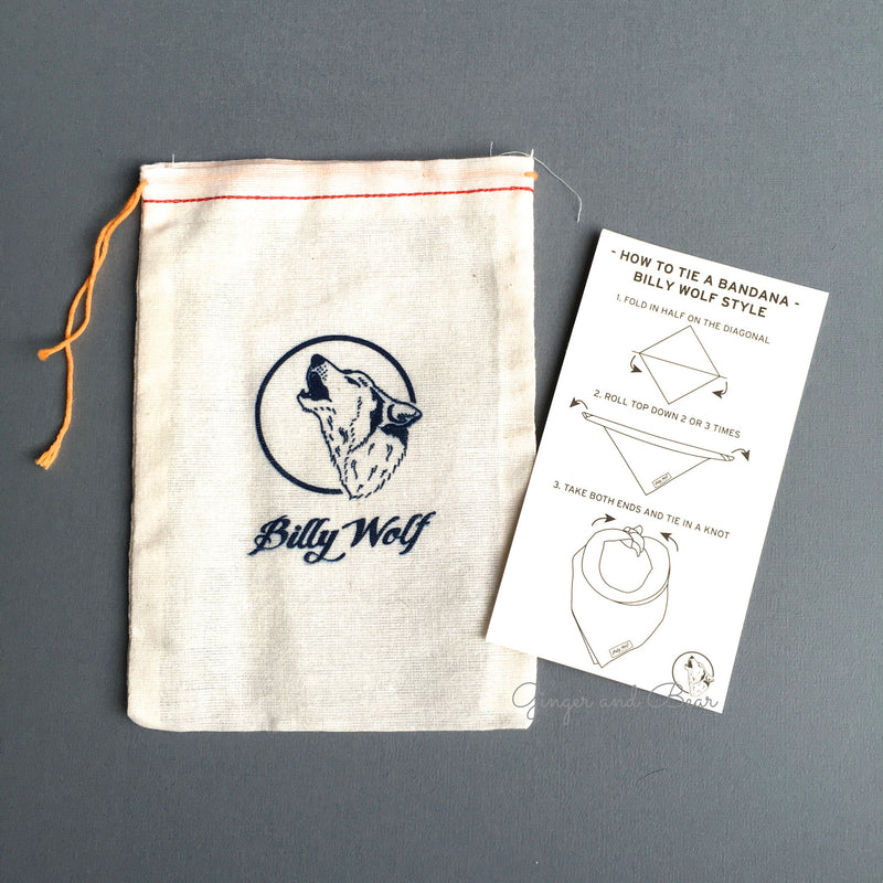 BillyWolf: Hazel Vintage Bandana (x-small)