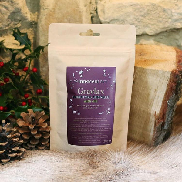 Innocent Hound Gravalax Christmas Sprinkle for Dogs