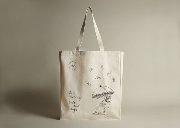 Totes Canvas: It's raining cats and dogs