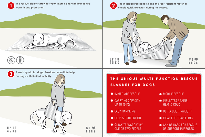 Dog Rescue Blanket