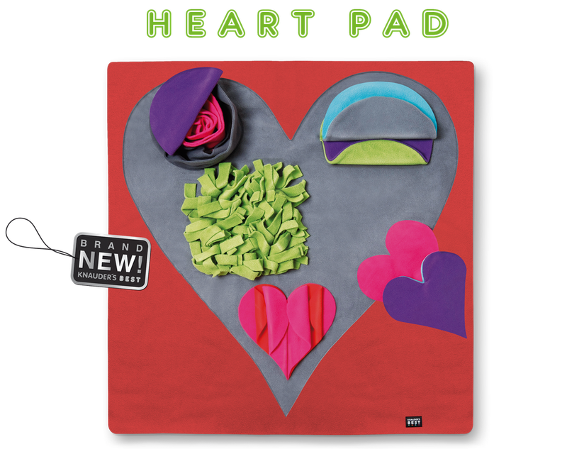 Knauders Best Heart Pad sniff pad for Dogs
