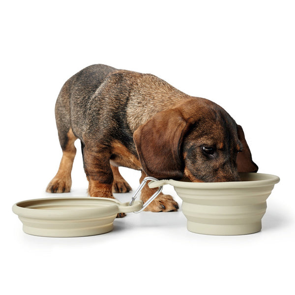 LIST Silicon Travel Bowls for Dogs and Cats