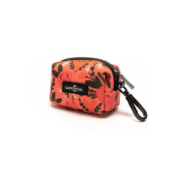 Lucy&Co Poop Bag Holder: The Posy Pink