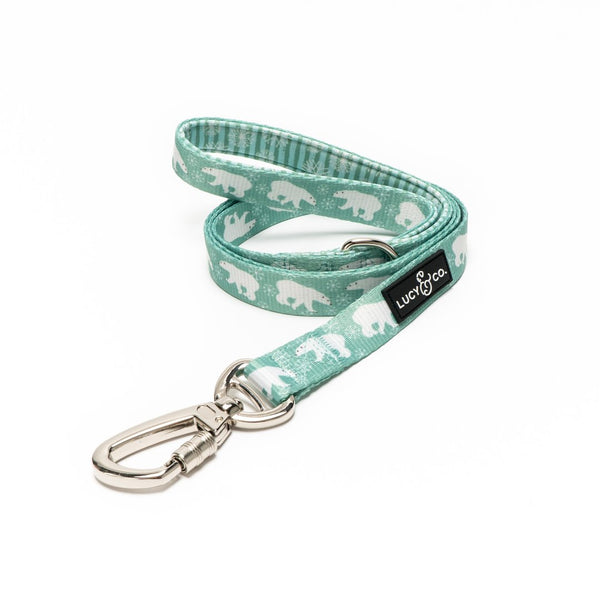 Lucy&Co Dog Leash: The Polar Bear Parade