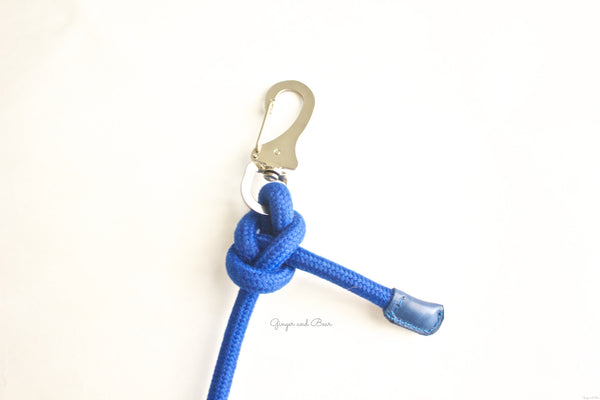 Dog Lead: Blue Rope