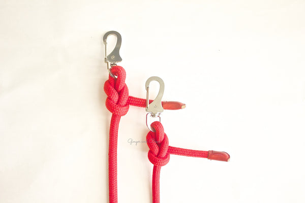 Dog Lead: Red Rope