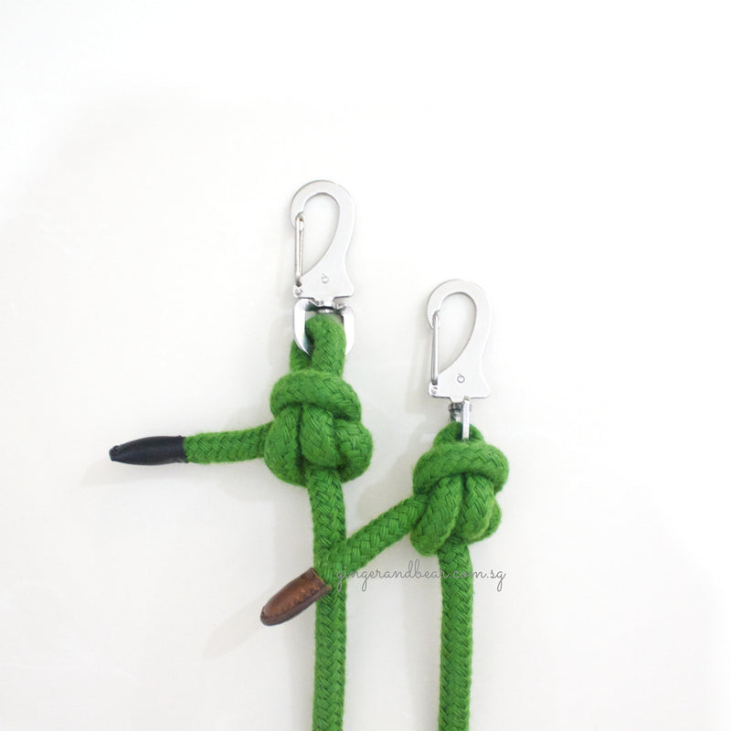 Dog Lead: Green Rope
