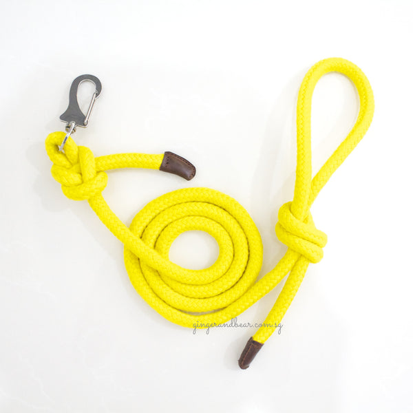 Dog Lead: Yellow Rope