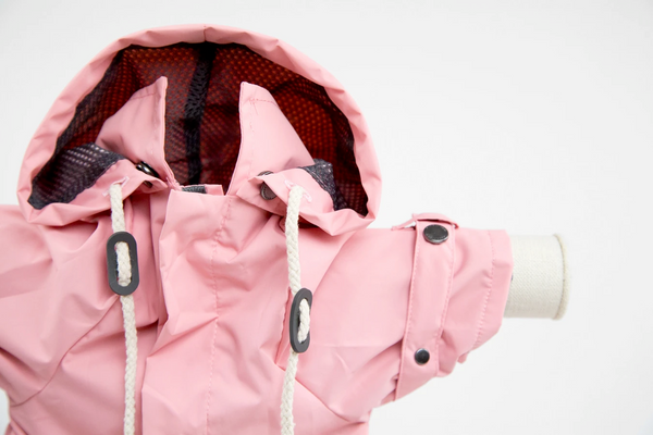 MaxBone Talon Rain Coat for Dogs in Pink