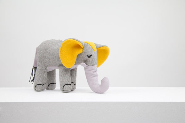 Max Bone Elsie Elephant plush dog toy